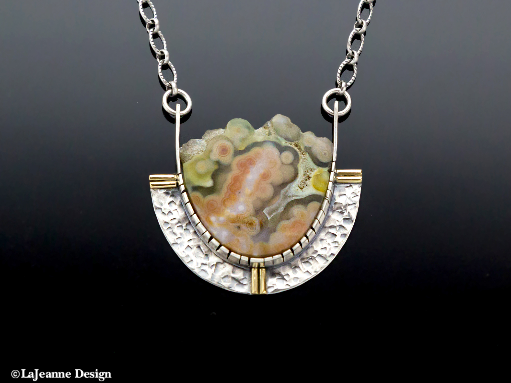Ocean Jasper Sterling Silver necklace