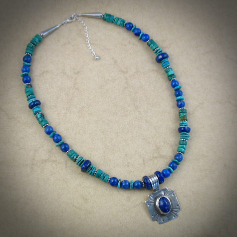 turquoise sterling silver necklace